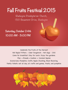 Fall Fruits Festival
