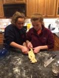 Baking the Communion Challah