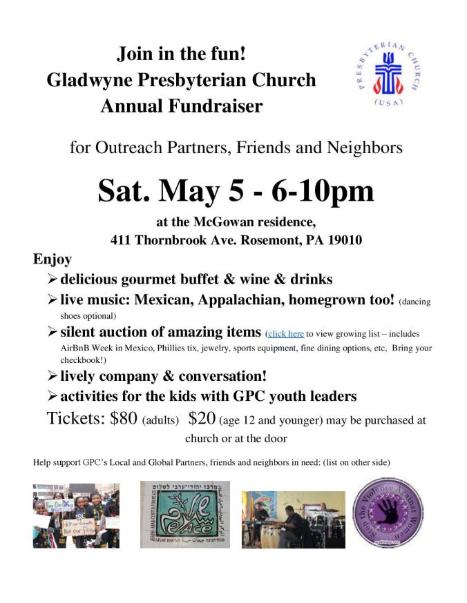 Flyer for Gladwyne Presbyterian Church May 5 2018 Fundraiser (002)-page-001
